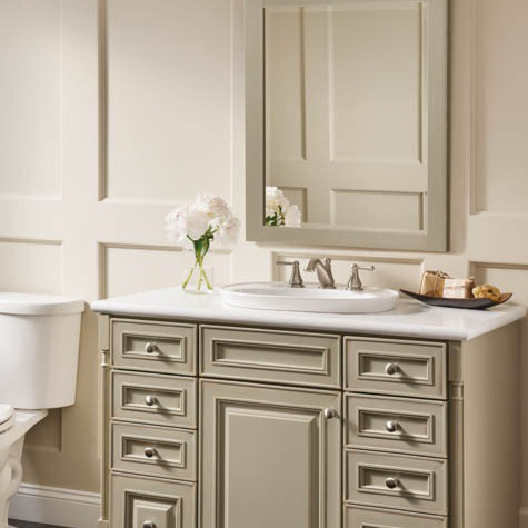 bathroom vanity, gray bathroom vanity, bathroom cabinetry, bathroom cabinet