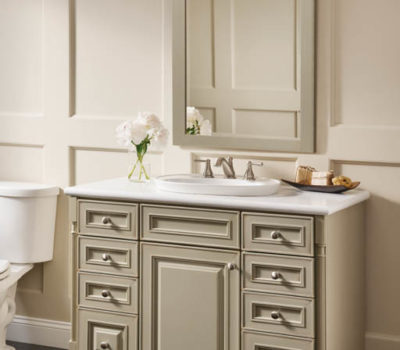 Kraftmaid Bathroom Vanity, Bathroom Vanity, Bathroom Counter, Countertop Installation