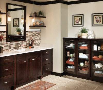 Dark Bathroom Vanity, Bathroom Cabinet, Bathroom Countertops, Merillat Bathroom Vanity