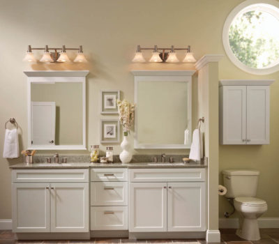Double Bathroom Vanity, His And Hers Sinks, Bathroom Remodel