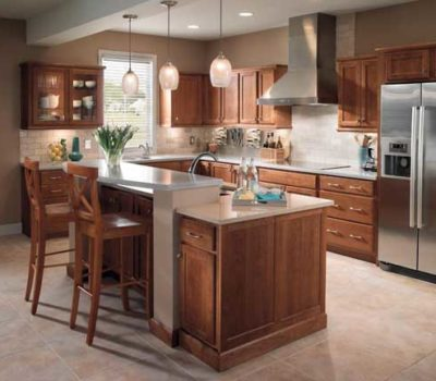 Brown Kitchen Cabinets, Kitchen Cabinets, Cabinetry, Cabinet Installation Western MA