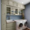 Laundry Room Cabinets, Laundry Room Renovation MA, Laundry Room Renovation CT, Storage Solutions