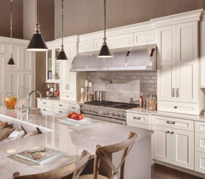 Classic White Kitchen, Transitional Kitchen Design, Kitchen Island Inspiration