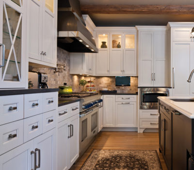 Kitchen With White Cabinetry And Center Island, Traditional Kitchen Design, Open Concept Kitchen, Kitchen Design