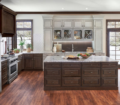 Open Kitchen With Large Center Island And Maple Cabinetry, Kitchen Cabinetry, Kitchen Design, Kitchen Remodel
