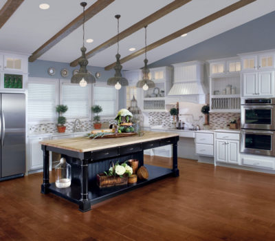 Cottage-themed Kitchen Design, Kitchen Design Massachusetts, Kitchen Design Longmeadow MA, Butcher-block Kitchen Island